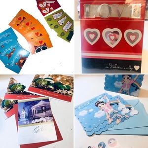 [NEW] Lot of 23 Holiday Cards